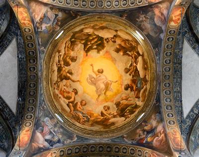 サン・ジョヴァンニ・エヴァンジェリスタ聖堂天井画