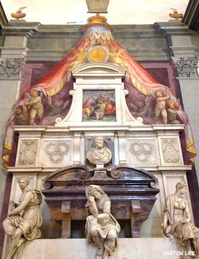 ミケランジェロの墓碑
