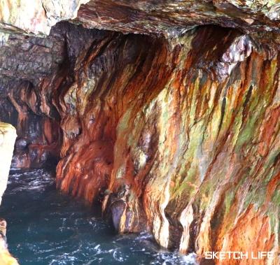 三段壁洞窟2